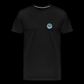 Men's Single-Sided Logo Tee - 3XL & 4XL ~ 1850