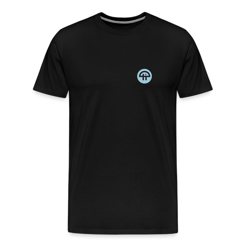 Men's Single-Sided Logo Tee - 3XL & 4XL - Men's Premium T-Shirt
