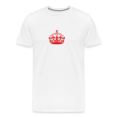 Keep Calm and carry on crown VECTOR READY TO ADD YOUR OWN TEXT TO PERSONALIZE T-Shirts
