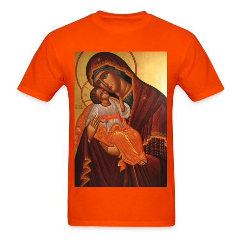 mother mary comes to me - Men's T-Shirt