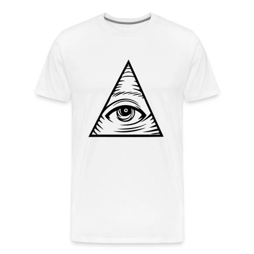 ALL SEING EYE TEE - Men's Premium T-Shirt
