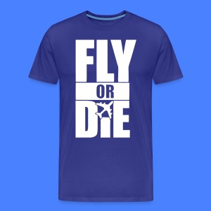 Fly Or Die T-Shirts - stayflyclothing.com - Men's Premium T-Shirt
