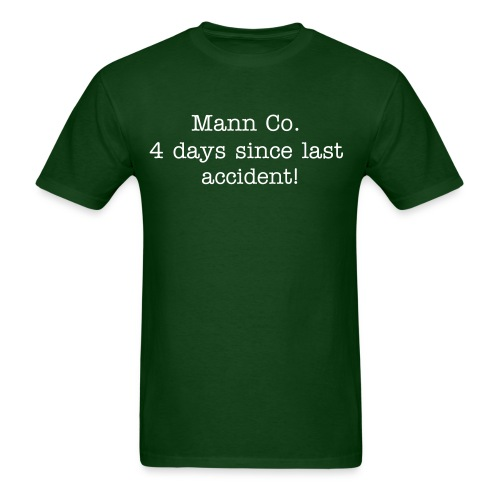 Mann Co. Official Shirt - Men's T-Shirt
