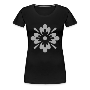 floral art - Women's Premium T-Shirt