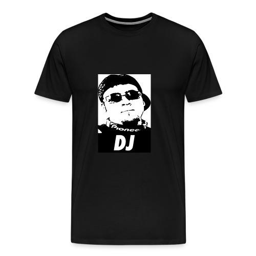 DJ Mario V Black and White - Men's Premium T-Shirt