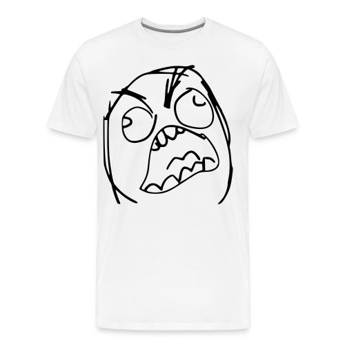 FFFFFUUUUUU T-Shirt - Men's Premium T-Shirt