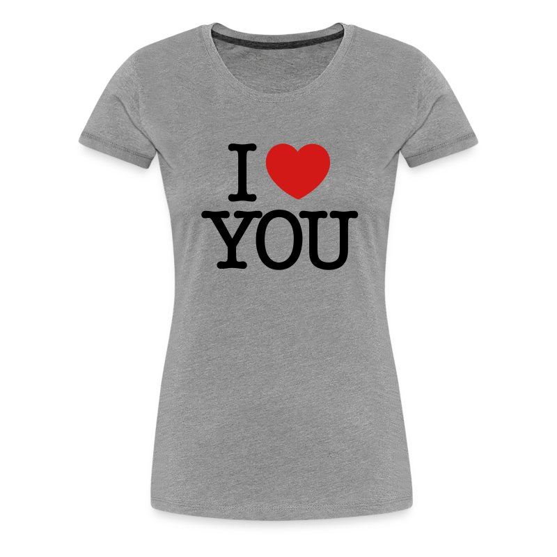 I love you black text t shirt spreadshirt for I love you t shirts