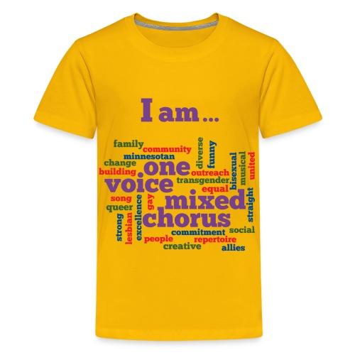 I am One Voice - Kids - Kids' Premium T-Shirt
