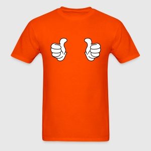 Thumbs up Bro! T-shirts (manches courtes) - T-shirt pour hommes