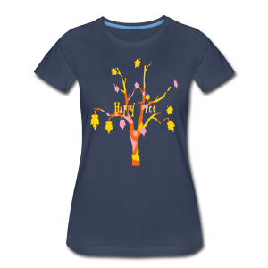 Happy Tree - Women's Premium T-Shirt
