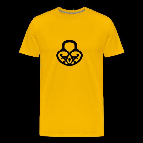 Pop My Lock-Black - Men's Premium T-Shirt