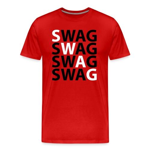 swag x 4 - Men's Premium T-Shirt