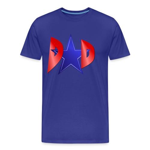 A Blue Star Dad - Men's Premium T-Shirt