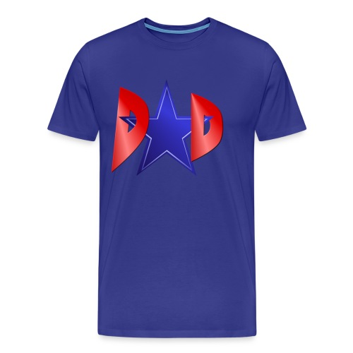 A Blue Star Dad - Men's Premium T-Shirt
