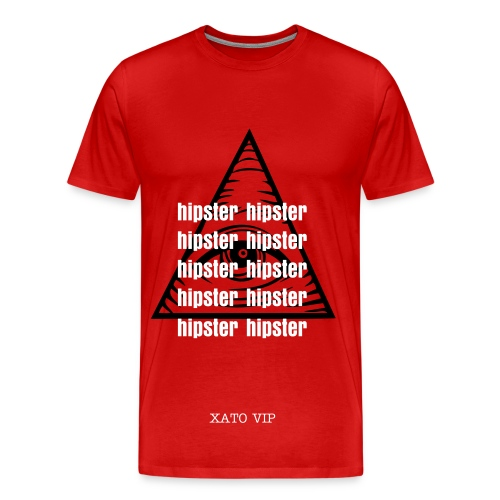 Hipsters everywhere - Men's Premium T-Shirt