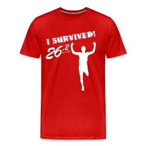I Survived! 26.2 - Men's Premium T-Shirt