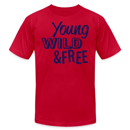 Young & Wild & Free - Men's Fine Jersey T-Shirt