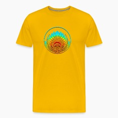 Crop circle - Mayan mask - Silbury Hill 2009 - Quetzalcoatl - Native Americans - Aztec - Venus - 2012 - icon new age / T-Shirts