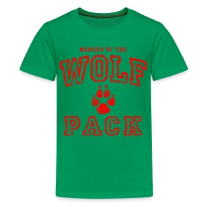 Wolf Pack Red - Kids' Premium T-Shirt