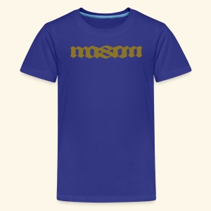 MASON POPULAR FIRST NAMES - Kids' Premium T-Shirt