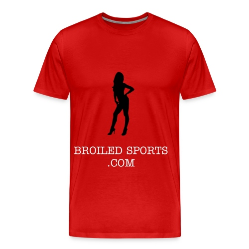 Broiled Babe Silhouette  - Men's Premium T-Shirt