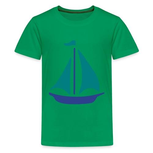 Blue Boat Tee - Kids' Premium T-Shirt