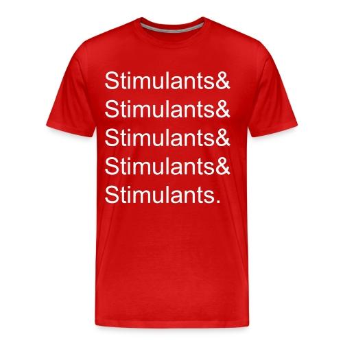 Stimulants& - Men's Heavyweight - Men's Premium T-Shirt