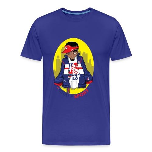 FILA STEEZ - Men's Premium T-Shirt