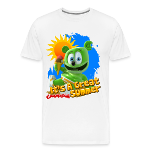 Gummibär (The Gummy Bear) It's A Great Summer Men's 3XL and 4XL T-Shirt - Men's Premium T-Shirt