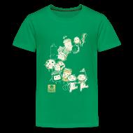 Kids' Shirts ~ Kids' Premium T-Shirt ~ BFF Parade Kids GREEN