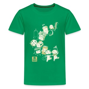 BFF Parade Kids GREEN - Kids' Premium T-Shirt