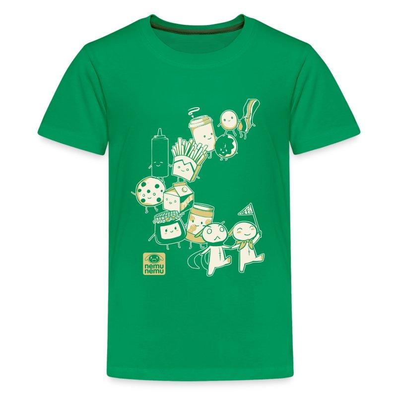 BFF Parade Kids GREEN - Kids' Premium T-Shirt