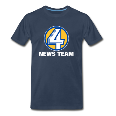 Channel 4 News Team Heavyweight T-Shirt