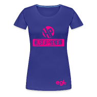 T-Shirts ~ Women's Premium T-Shirt ~ Womens- Hustlapreneur