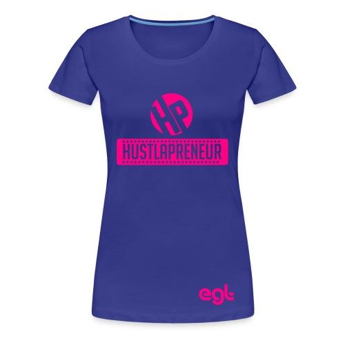 Womens- Hustlapreneur - Women's Premium T-Shirt