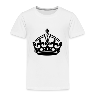 Keep Calm and Carry On Crown Baby & Toddler Shirts