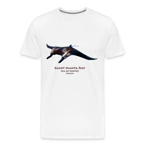 Giant Manta Ray - Men's Premium T-Shirt