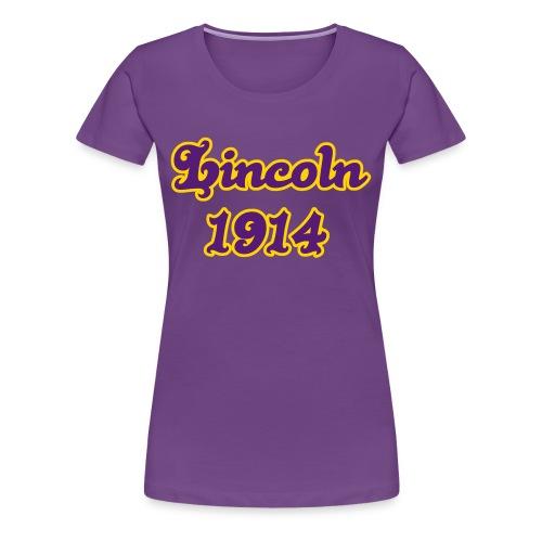 Lincoln 1914 Plus Size - Women's Premium T-Shirt