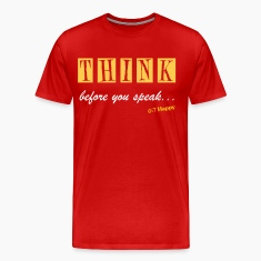 THINK · Back T-Shirts