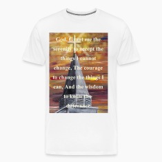 steeple_digital_serenity_white T-Shirts