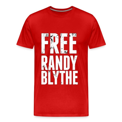 Free  Randy Blythe (Red) - Men's Premium T-Shirt