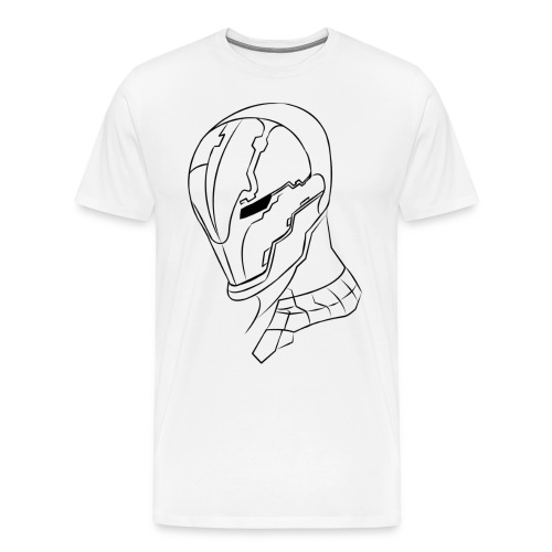 Cyber Armour Helm  - Men's Premium T-Shirt