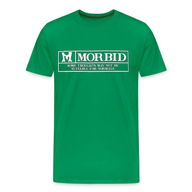 Sanitys Playground M Is For Morbid Xl Mens Premium T Shirt