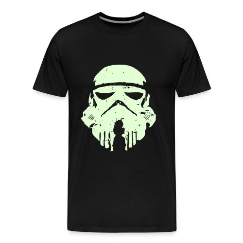 Clone Trooper *glows on dark* - Men's Premium T-Shirt