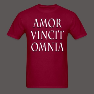 LOVE CONQUERS ALL(LATIN) - Men's T-Shirt