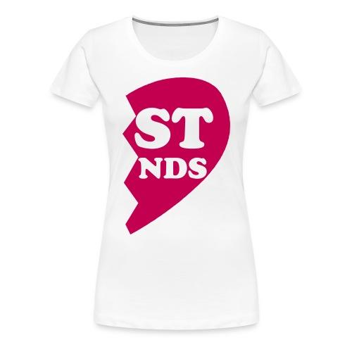 2ND PART OF FRIENDS - Women's Premium T-Shirt