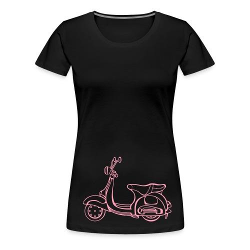 Vespa Women's T-shirt   Orange M. Co - Women's Premium T-Shirt