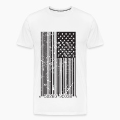 Barcode Flag T-Shirts