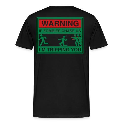zombie outbreak - Men's Premium T-Shirt