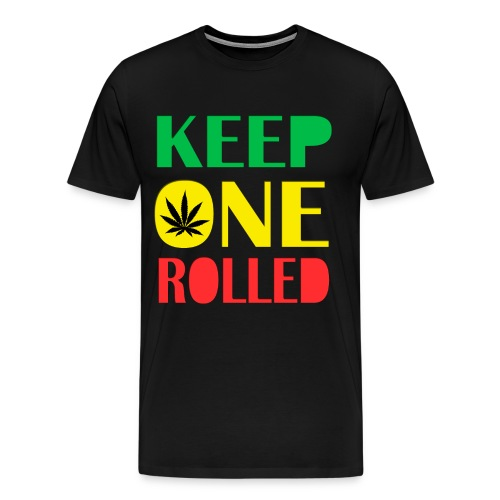 Keep one rolled. - Men's Premium T-Shirt